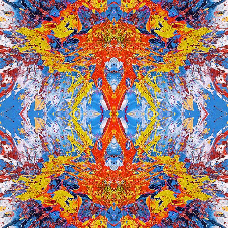 JUST EMOTION / METAMORPHOSIS / alpha / mixed media auf leinwand / Artist - Andreas Streicher