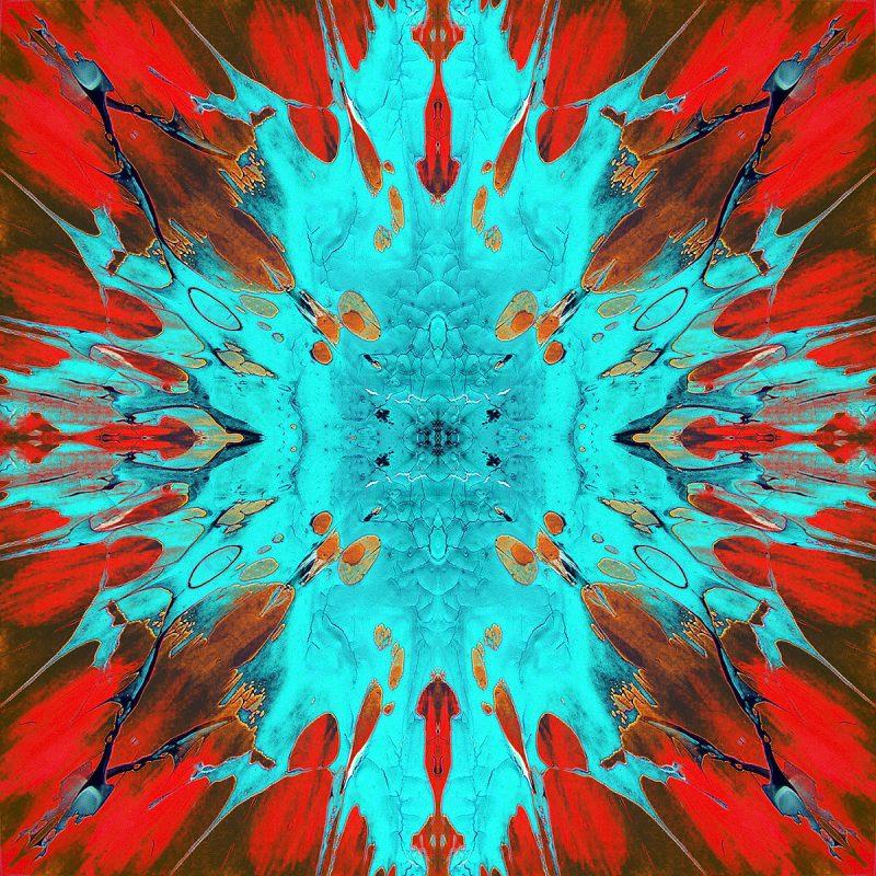 JJACKSON / METAMORPHOSIS / alpha / mixed media auf leinwand / Artist - Andreas Streicher