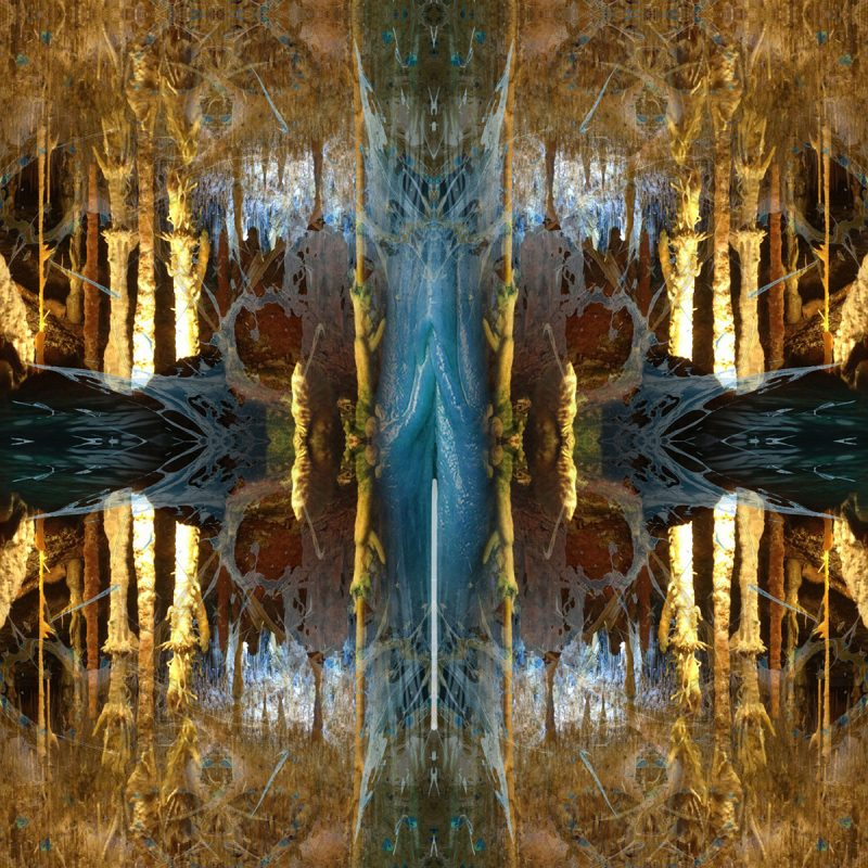 LA CUEVA / METAMORPHOSIS / alpha / mixed media auf leinwand / Artist - Andreas Streicher