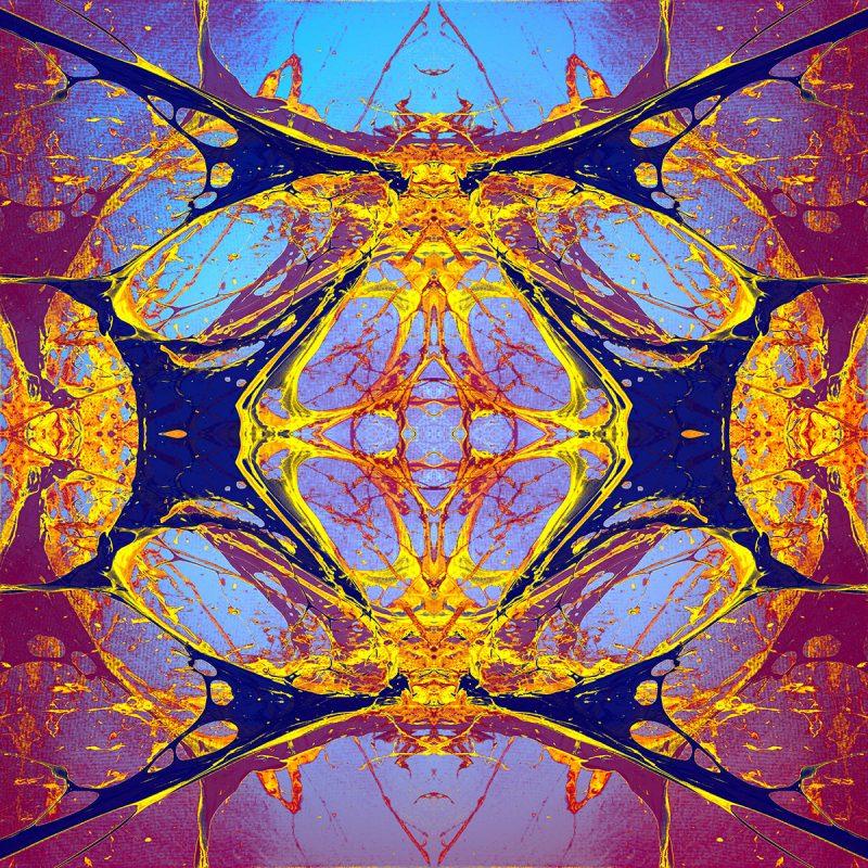MAPA MUNDI 3013 / METAMORPHOSIS / alpha / mixed media auf leinwand / Artist - Andreas Streicher