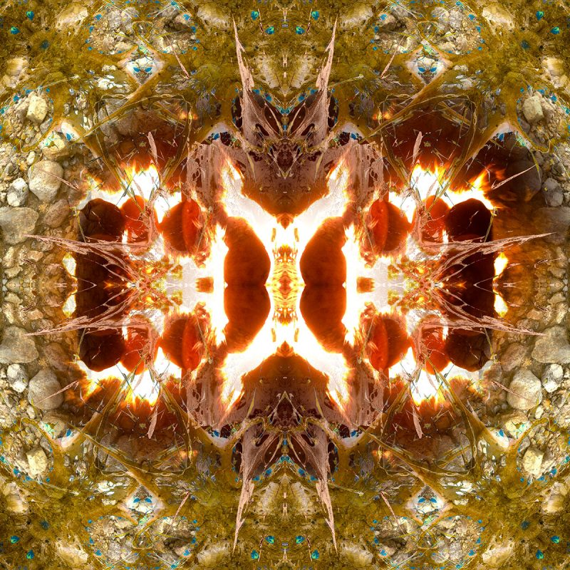 BURNING EARTH / METAMORPHOSIS / alpha / mixed media auf leinwand / Artist - Andreas Streicher