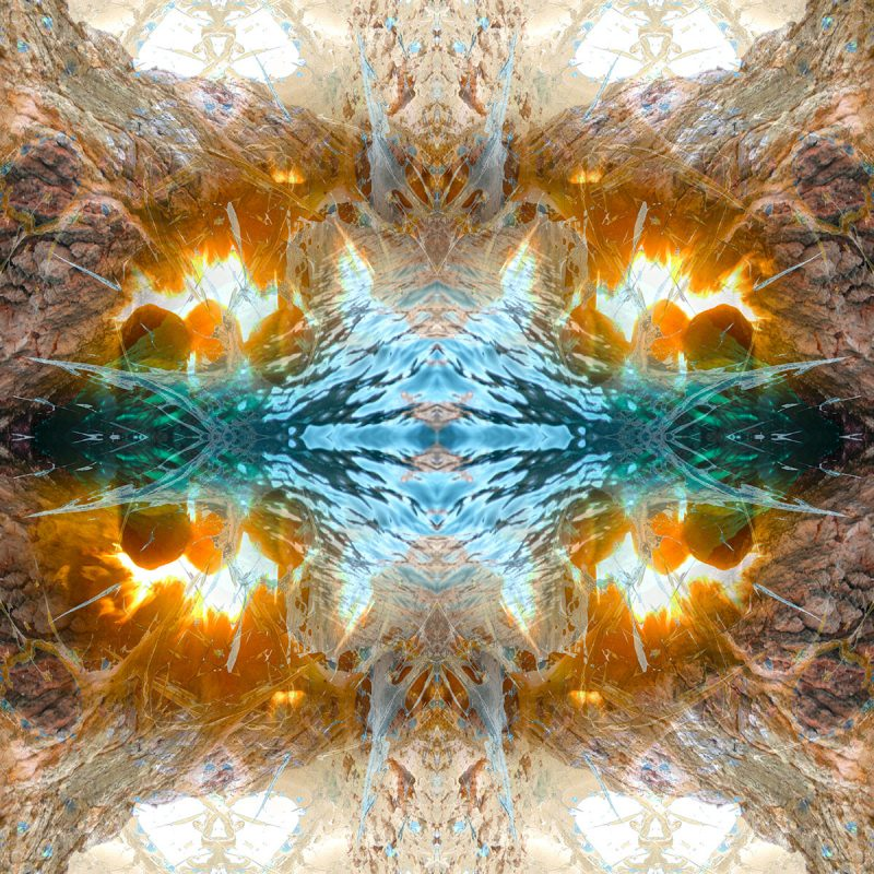 COLD FUSION / METAMORPHOSIS / variant / giclee print auf leinwand / Artist - Andreas Streicher