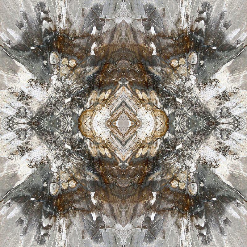 IRONORE / METAMORPHOSIS / alpha / mixed media auf leinwand / Artist - Andreas Streicher