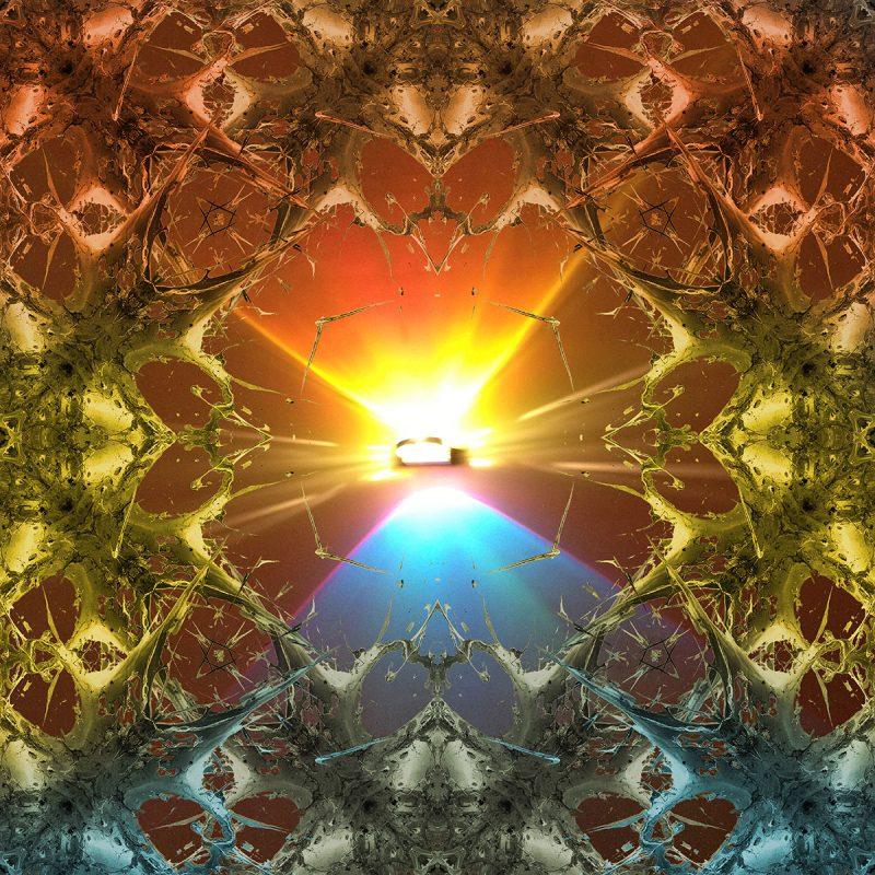 RAINBOW 3000 / METAMORPHOSIS / variant / mixed media auf leinwand / Artist - Andreas Streicher
