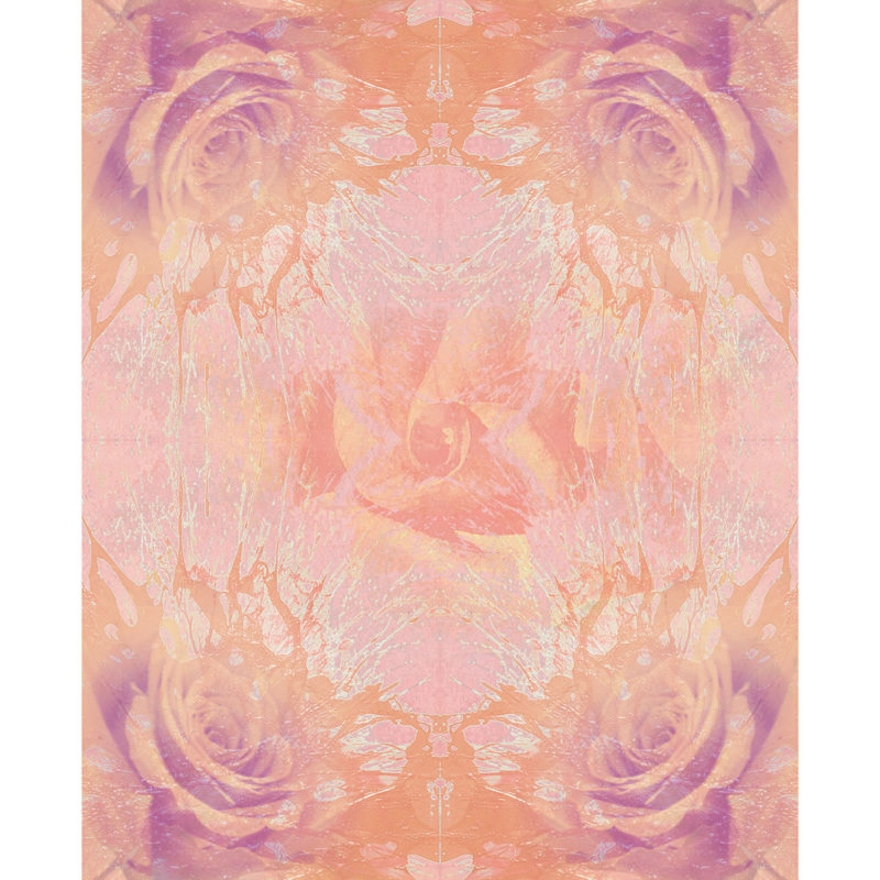 FOR ROSES LIGHT / METAMORPHOSIS / variant /giclee print on canvas / Artist - Andreas Streicher