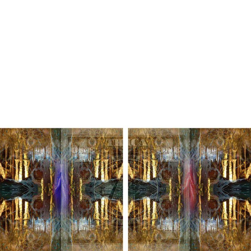 ELEVEN / METAMORPHOSIS / variant /mixed media on canvas / Artist - Andreas Streicher